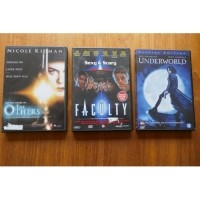 Dvd the others, underworld, the faculty