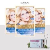 Loreal Paris Excellence Haarverf - 04 Pure Blonde - 3 Pack…