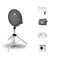 BCK TravelSat TS65A/S recreatieset - Single LNB
