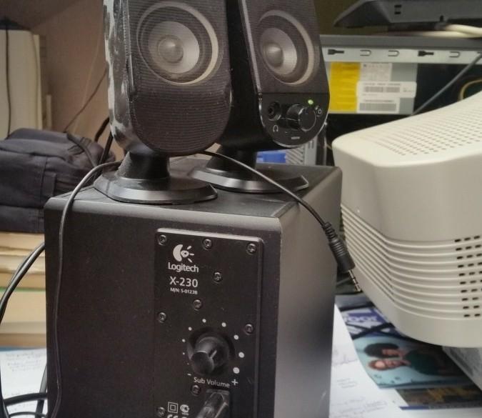 Logitech speakerset X-230