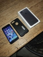 iPhone 7 Plus 32 gb nette staat met doos en hoesje 175 euro…