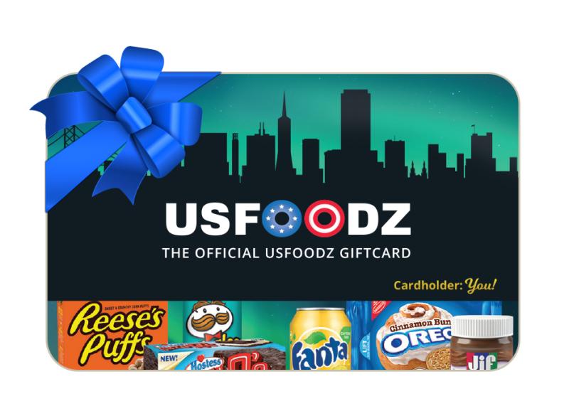 USfoodz Gift Card - € 30