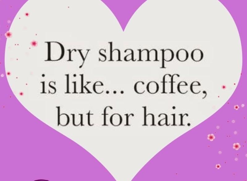 Tip van Sonja's Haarmode, Dry shampoo