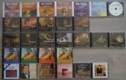 Te koop diverse nieuwe originele klassieke CD's.