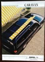 Folder - Opel Omega Caravan - 1988