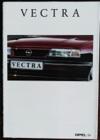 Folder/brochure - Opel Vectra - 1992
