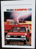 Folder/brochure - ISUZU Campo - 1988