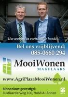 Mooi Wonen Makelaars  is onderdeel van AgriPlaza Makelaars.