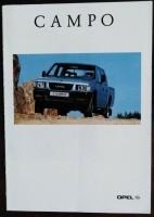 Folder/brochure - Opel Campo -1993