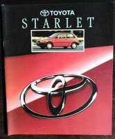 Folder/brochure - Toyota Starlet - 1993