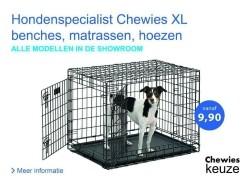 Hondenbench tegen grootste kortingen -60% SALE