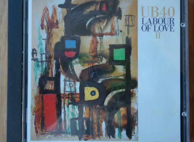 """Te koop de originele CD """"Labour Of Love II"""" van UB40."""