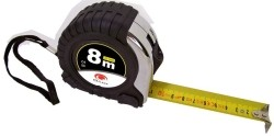Stalen rolbandmaat 8 meter (25mm)  Alleen deze week 10% ext…