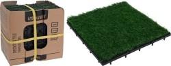 Terrastegels kunstgras - set van 9 - 30x30  Alleen deze wee…