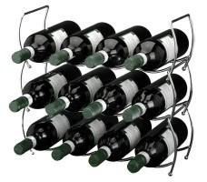 Stapelbaar wijnrek  (3 delig)  Alleen deze week 10% extra k…