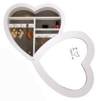 Sieradendoos - hartvorm  Alleen deze week 10% extra korting