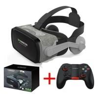 9.0 Virtual Reality 3D Bril 120° Met Controller