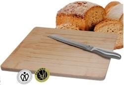 Broodsnijplank incl. broodmes  Alleen deze week 10% extra k…