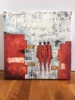 Lenuta Bazu olieverfschilderij met echtheidcertificaat