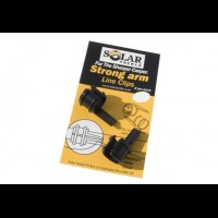 Solar tackle strong arm line clips 2 st10 mm