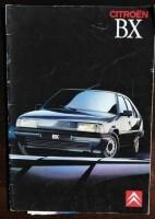 Folder/brochure - CITROËN BX -1989