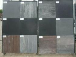 18218 NIEUWE TERRASTEGELS tuintegels div kleuren 60x60x4cm…