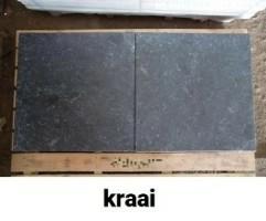 20103 B-KEUS betontegels terrastegels met print type KRAAI