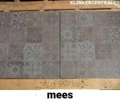 20104 B-KEUS betontegels terrastegels met print type MEES