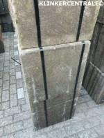 20082 RESTPARTIJ 140m2 grijs terrastegels 50x50x5cm stoepte…