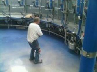 MMA Troffelvloeren voor melkstal haccp