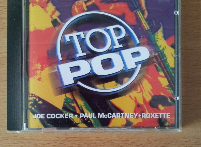 ≥ CD Top Pop met o.a. Joe Cocker, Roxette, Pink Floyd 1997