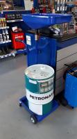Olie opvang unit voor 60 liter vat