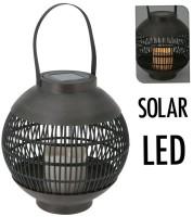 Solar lantaarn LED 23 cm - basket  Alleen deze week 10% ext…