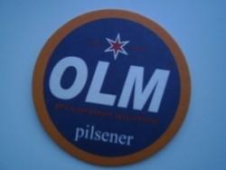 1 bierviltje Olm