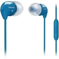 SHE3595BL/00 In-ear oordopjes - microfoon - blauw  Alleen d…