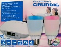 Lampenset met WIFI & LED kleurschakeringen  Alleen deze wee…
