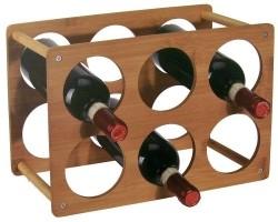Wijnrek voor 6 flessen  Alleen deze week 10% extra korting