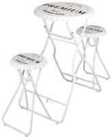 Bartafel met 2 stoelen - wit  Alleen deze week 10% extra ko…