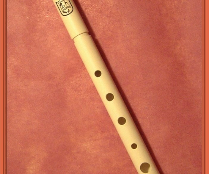 Parks - hoge / soprano D whistle - stembaar met toonring