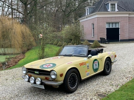 Triumph Tr6 2.5 Overdrive Roadster GETUNED RALLY OBJECT