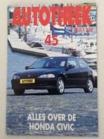 Autotheek 45 - Alles over de Honda Civic