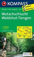 Wandelkaart 899 Wutachschlucht, Waldshut-Tiengen Kompass