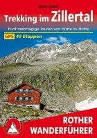 Wandelgids Trekking im Zillertal Rother Wanderführer   Roth…