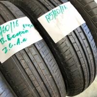 2 x Bridgestone Ecopia EP500 175-60-16 Zomerbanden Nieuw