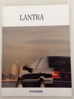 Folder/brochure - HYUNDAI Lantra