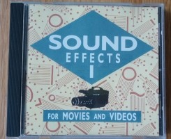 """Originele CD """"Sound Effects For Movies And Videos: Volume 1…"""