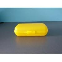 Tupperware smartclip geel