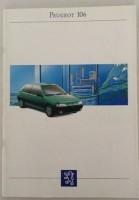 Folder/brochure - Peugeot 106 -1993