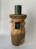 Rasteli Roundwood Kaarsenhouder 30cm