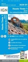 Topografische Wandelkaart van Frankrijk 3639OT - Haute Tine…